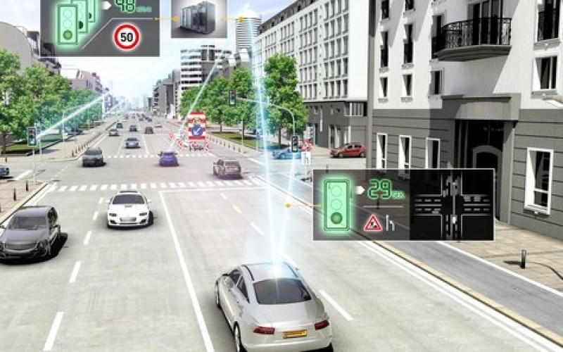 CES 2015: технология от Continental предсказва пътя пред автомобила