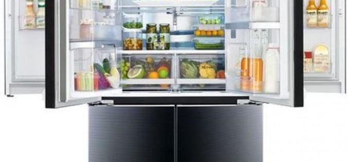 """CES 2015: Първият в индустрията хладилник """"врата във врата"""" предлага и контурно стъклено покритие"""