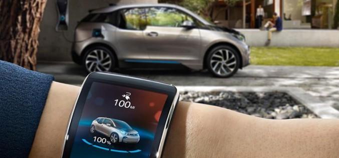 Нови BMW автомобили ще могат да бъдат паркирани с помощта на интелигентни часовници