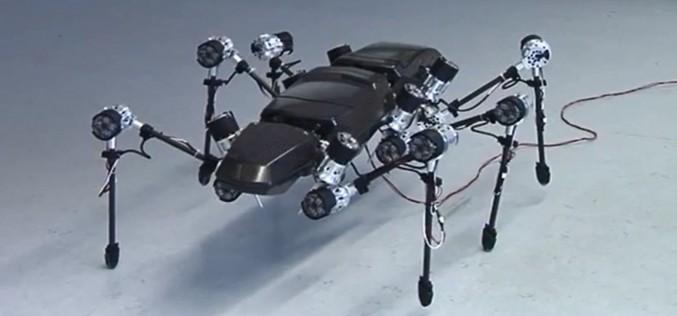 HECTOR: шесткрак робот всъдеход