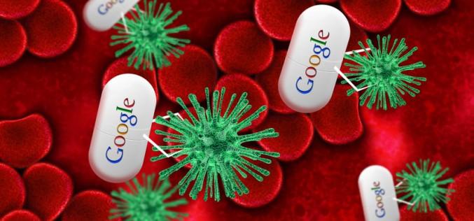 Google патентова устройство за борба с рака