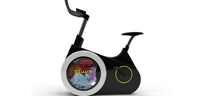 Bike Washing Machine комбинира колело и пералня
