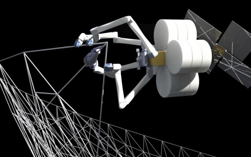 Подобни на паяци роботи ще изграждат гигантски космически структури