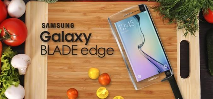 Samsung представи първия умен нож Galaxy Blade edge