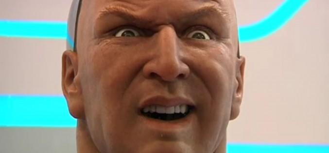Хуманоиден робот разпознава човешки изражения и сам изразява емоции (видео)
