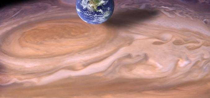 """Юпитер е """"разчистил"""" място за Земята в Слънчевата система"""