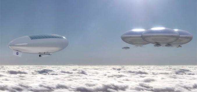 NASA има план да създаде летящи градове в небето на Венера