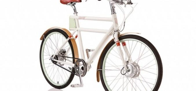 Елегантен ретро велосипед на батерии