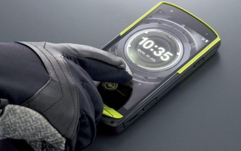 Правим снимки в океана с Kyocera Torque G02 смартфон