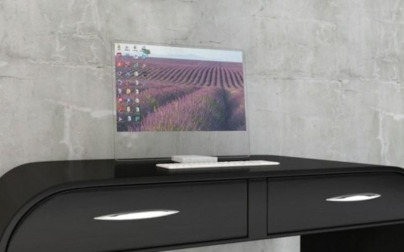Прозрачен екран изчезва, когато не се използва