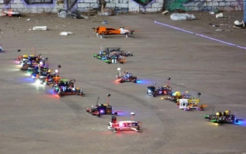 На ъндърграунд сцената в Австралия се появиха и състезания с дронове