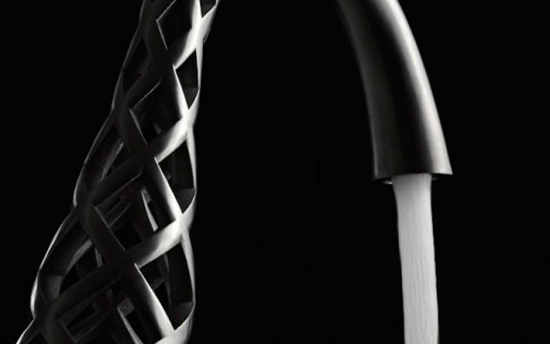 Уникални 3D принтирани смесители за баня