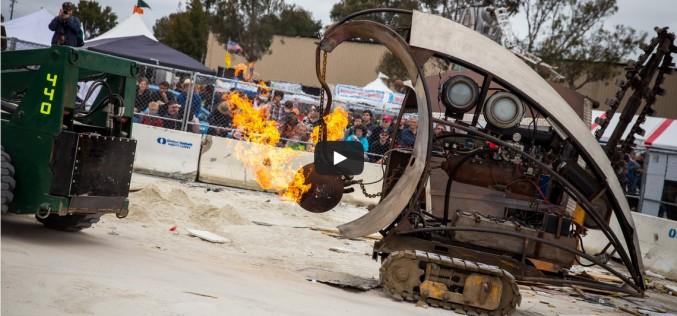 Вижте тези строителни роботи, направени от скрап