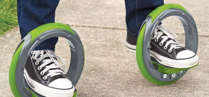 Скейтборд, редуциран само до две колела