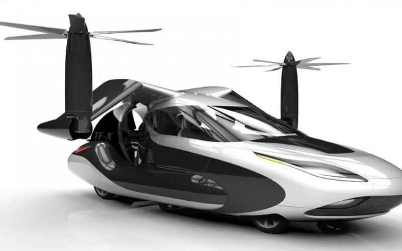 Terrafugia TF-X: концепция за летяща кола с вертикално излитане