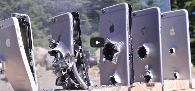 Колко айфона могат да спрат куршум от АК-74?