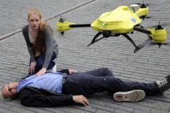 Дрон-линейка спасява застрашен живот
