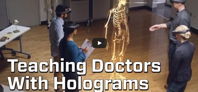 Бъдещите лекари могат да бъдат обучавани чрез холограми