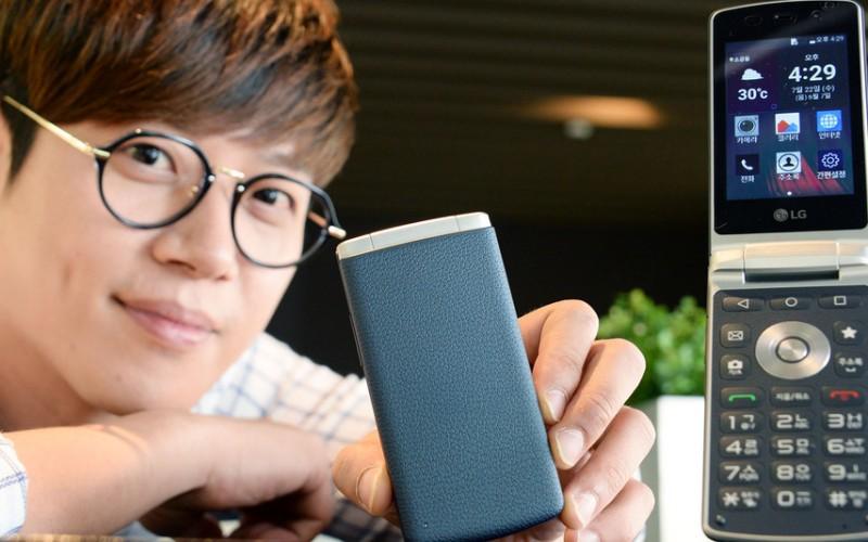 LG връща флип телефоните в играта