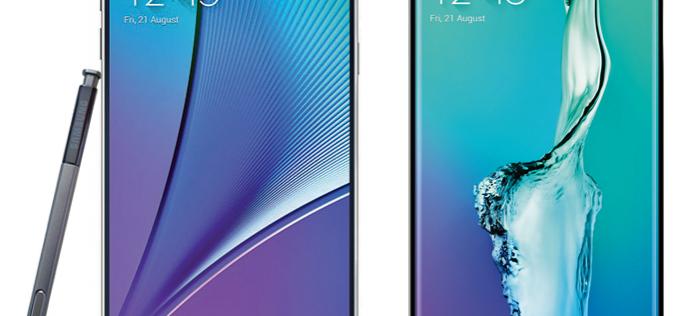 Samsung най-накрая представи флагманите Galaxy Note 5 и Galaxy S6 Edge+