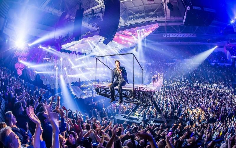 L-Acoustics – озвучителната система на Роби Уилиамс, Мадона, Кайли Миноуг, Бочели и мн. други вече и в България