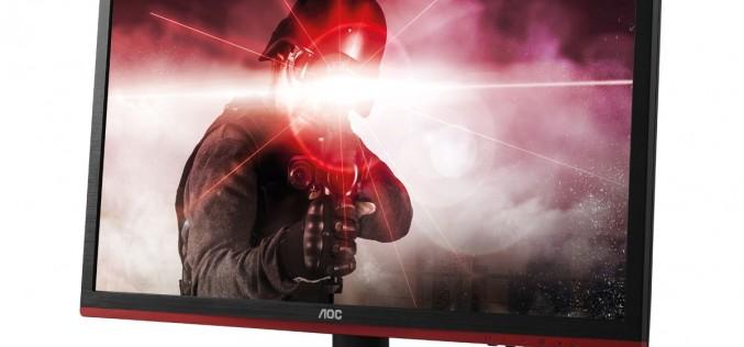 AOC пази очите на геймърите с нови монитори