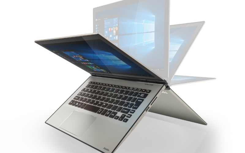 Първият в света 12,5-инчов Ultra HD 4K хибриден лаптоп – Toshiba Satellite Radius 12