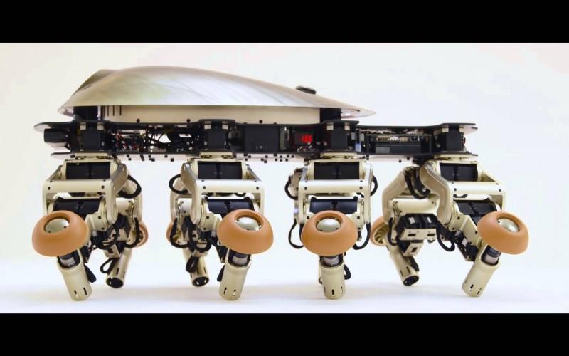Вижте Halluc IIx – робот, който може да победи всеки терен