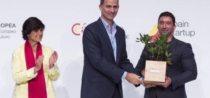 Българската стартираща фирма Имагга е наградена от Краля на Испания
