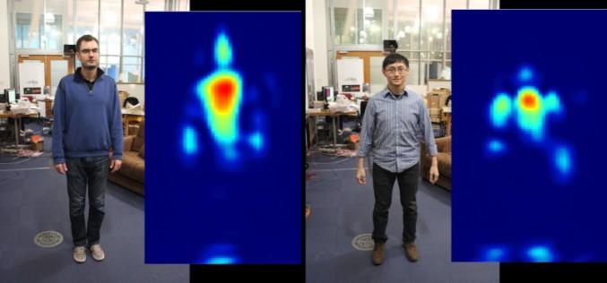 Нова радиотехнология улавя човешки фигури през стени