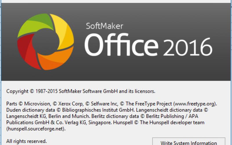 SoftMaker Office Standard 2016 – достъпна алтернатива на MS Office