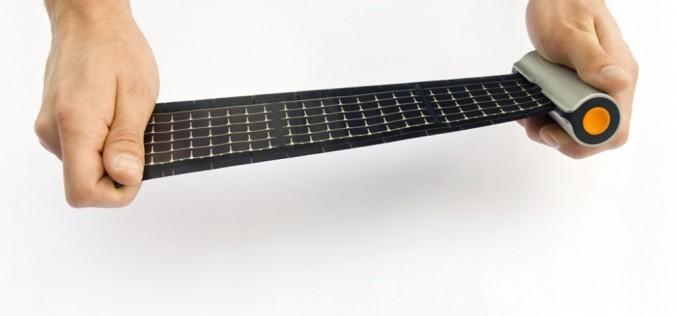Рулетка-слънчево зарядно осигурява зелена енергия по време на път