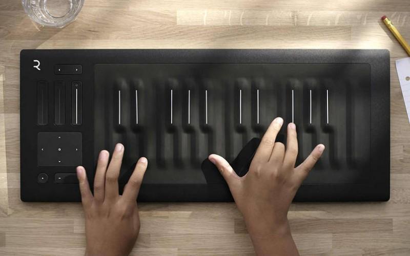 Чувствителна на натиск музикална клавиатура
