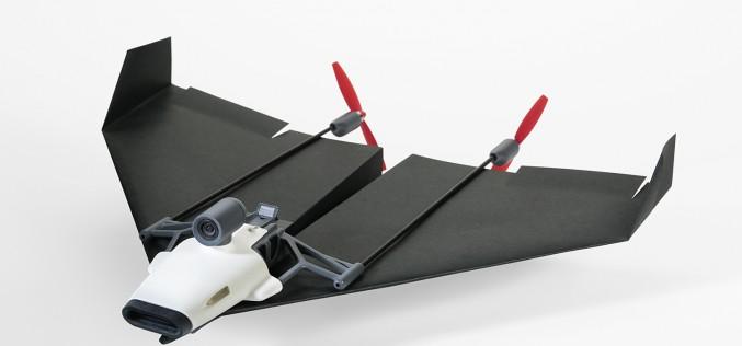 PowerUp FPV – хартиено самолетче, което стриймва видео от пилотската кабина