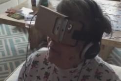 Баба получава виртуална реалност за Коледа