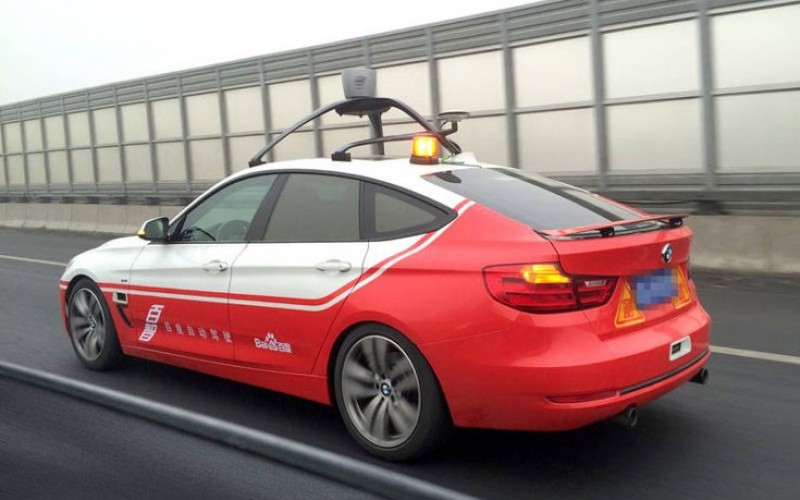 Автомобилът робот Baidu успешно премина тестове на обществени пътища