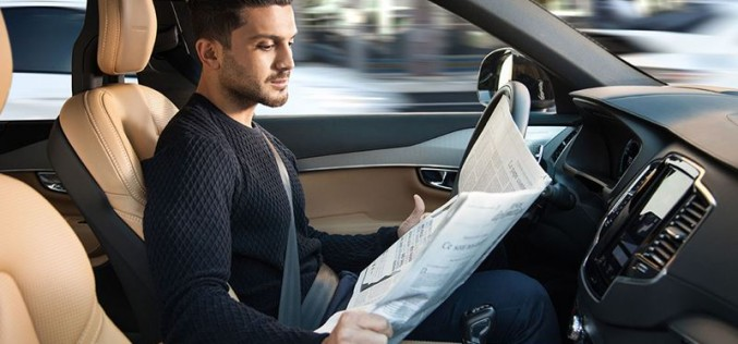 Volvo Cars и Ericsson заедно към автономните коли