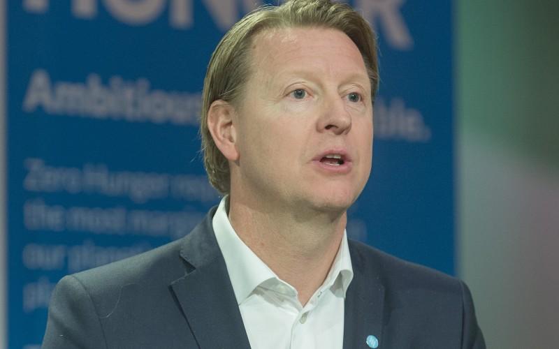 Шефът на Ericsson Ханс Вестберг получи WFP Hunger Hero Award