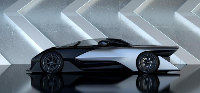 Faraday Future представя своята концепция за суперавтомобил на CES 2016