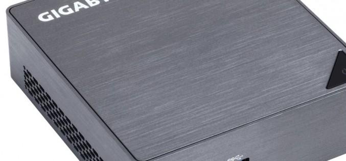 Gigabyte Brix: стилни, компактни, мощни и функционални
