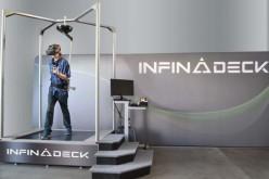 Infinadeck позволява физическо движение при виртуална реалност