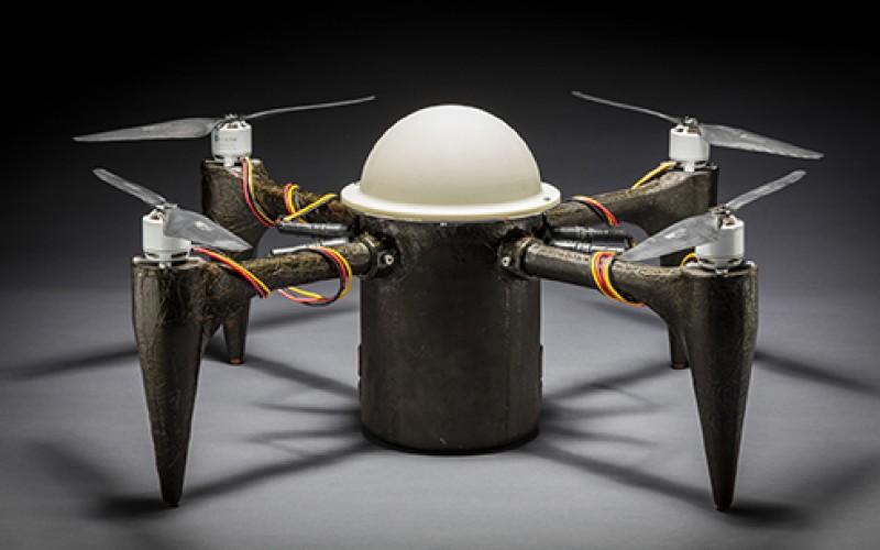 Нов дрон може да се крие под водата в продължение на месеци