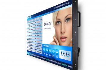 Банерните дисплеи на NEC – безгрижно и надеждно решение за банерна мултимедийна реклама в търговски обекти