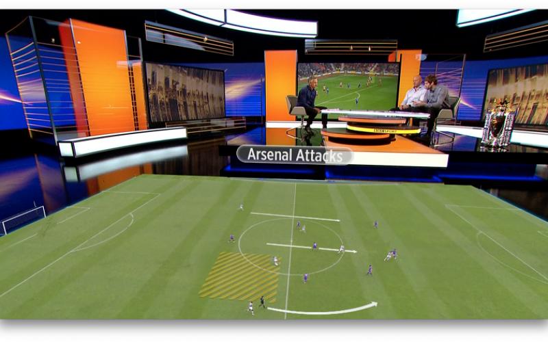 Piero: технологията за добавена реалност за излъчване на спортни програми от Ericsson