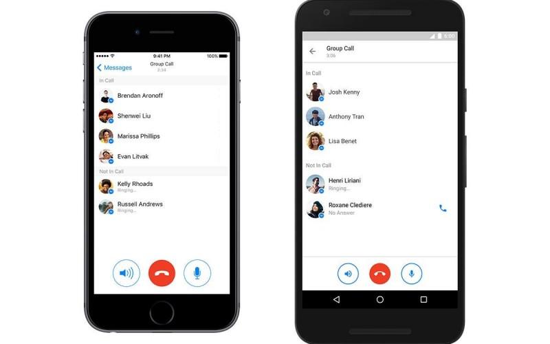 Потребителите на Messenger вече могат да провеждат групови разговори