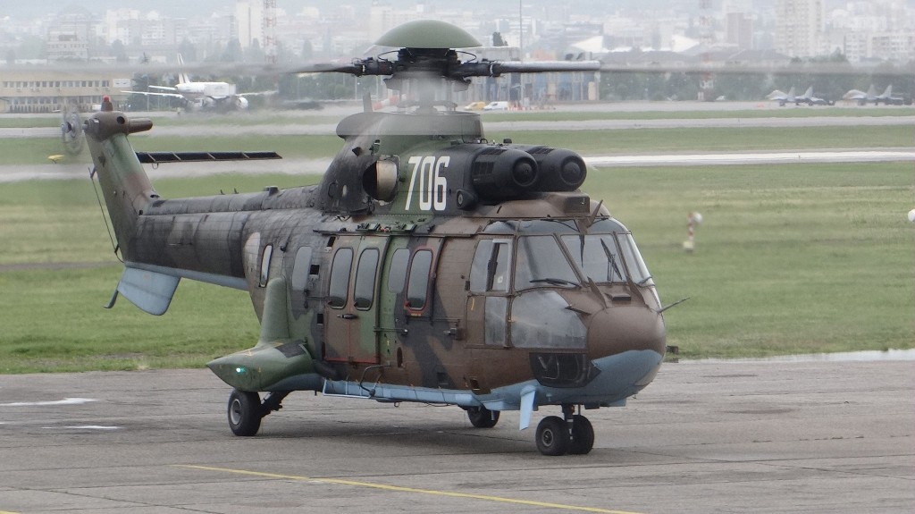 Helicopter AS-532AL Cougar