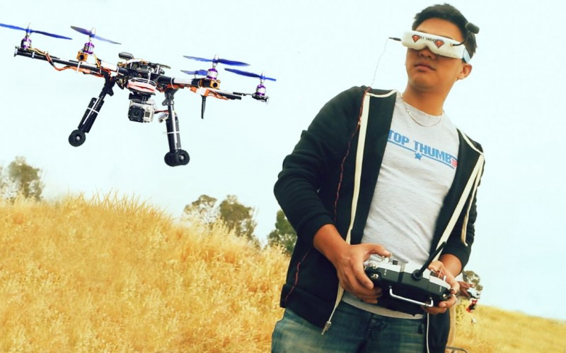 Първото състезание с дронове у нас