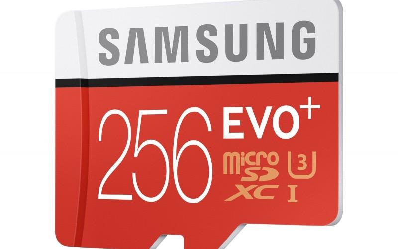 Samsung EVO Plus 256 GB MicroSD: карта с най-големия капацитет в своя клас