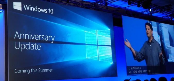 Основен ъпдейт на Windows 10 през 2016 г. – поддръжка на Linux, съвместимост с Xbox One и още …