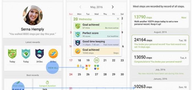 Здравното приложение S Health с нови фитнес функции